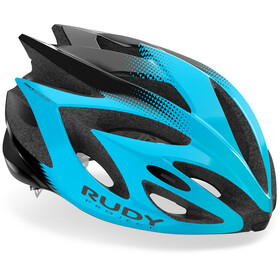 Rudy Project Rush Helmet azur black shiny